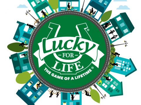 Lucky For Life game logo