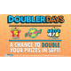 Doubler Days Promotion Extended To October