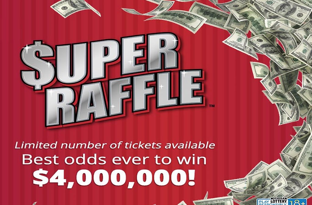 One More Week To Buy Michigan Lottery's Super Raffle Tickets For A Chance To Win Millions