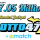 Saturday 15, September 2018 Lotto 47 Jackpot Estimated At $7.05 Million