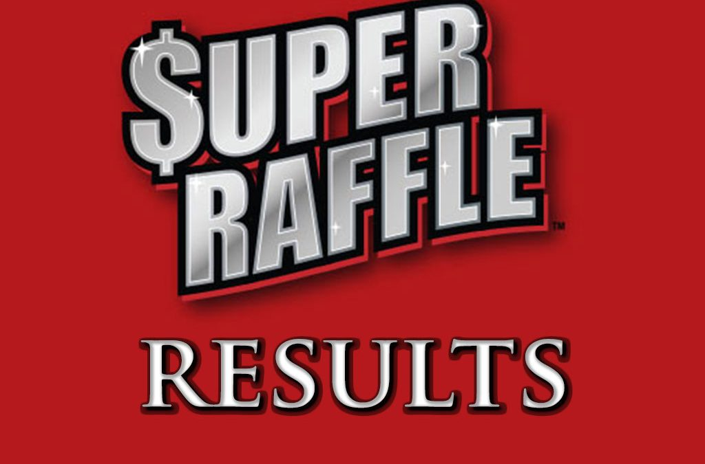 Super Raffle 2018 Results logo