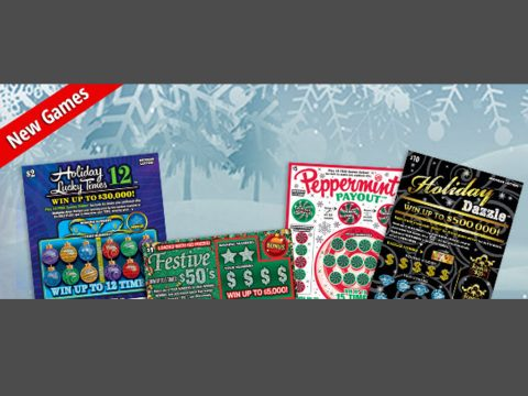MI Lottery's New Holiday-Themed Games