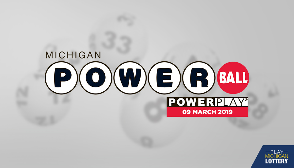 Powerball Results 09 March 2019 Playmichiganlottery Com
