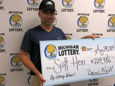 Scott Hein Wins $229,986 on MichiganLottery.com