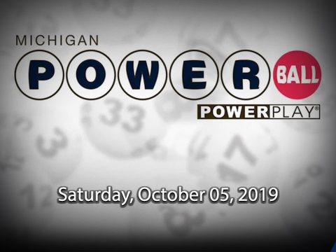 Saturday, October 05, 2019 Powerball Drawing
