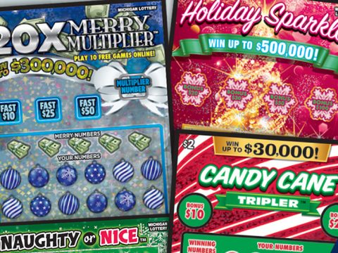 Coming Michigan Lottery Holiday-Themed Games