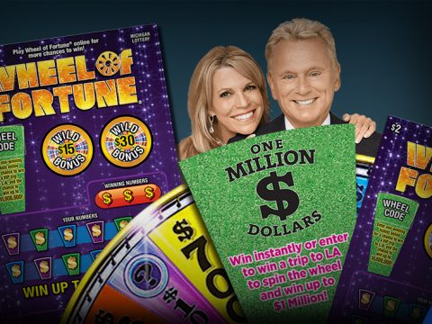 Wheel of Fortune Prizes & Drawing game cards