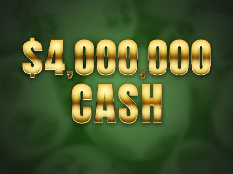 Jackpot Winner of $4 million