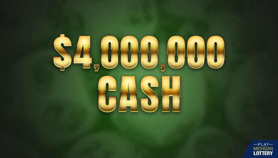 Jackpot Winner of $4 million