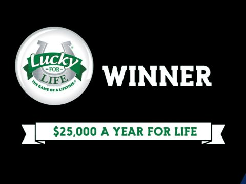 lucky for life banner