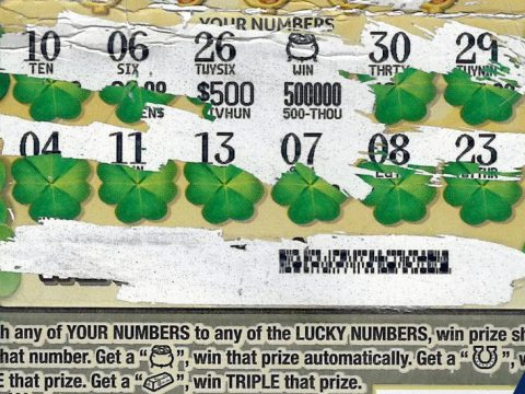 winning ticket - Wexford County man wins top $500,000 Lucky 7's prize