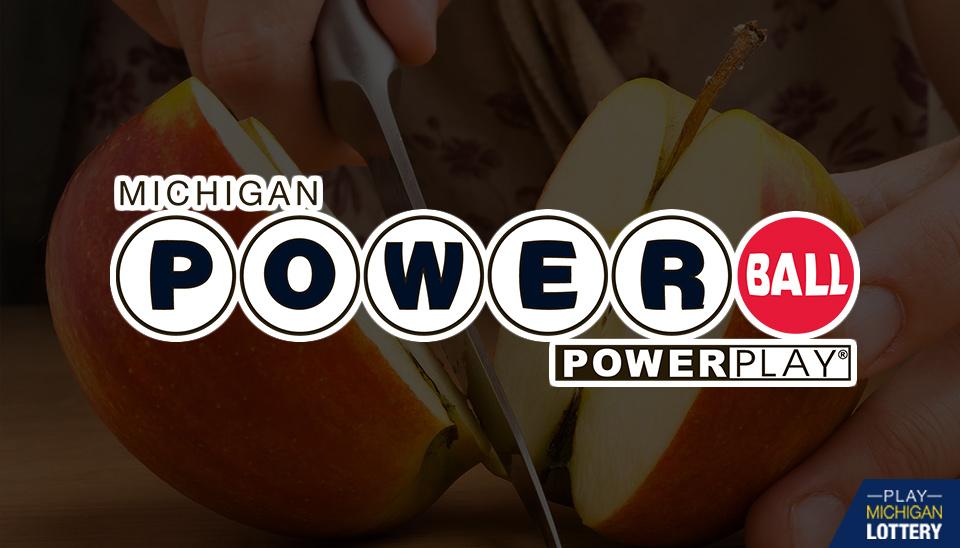 Powerball - Michigan Lottery Powerball logo