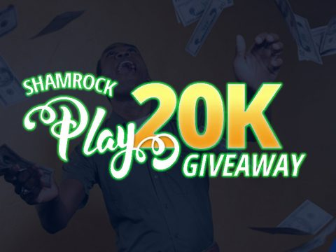 Shamrock Play $20K Giveaway promotion logo