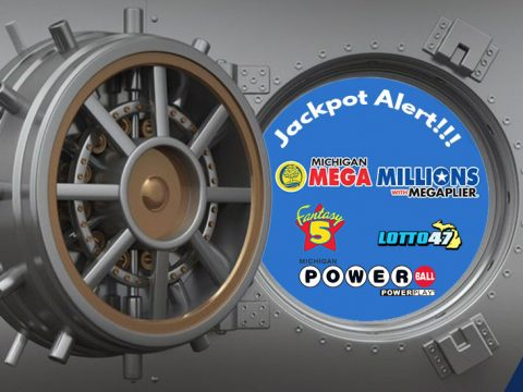 jackpot arlert Michigan Lottery games