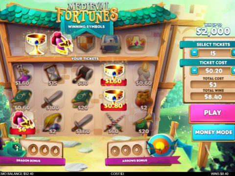 Play Medieval Fortunes