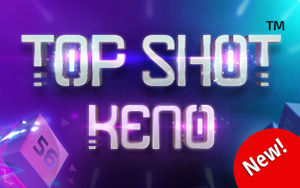 Top Shot Keno new game logo
